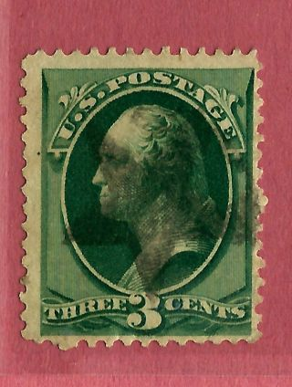 1800s Us Stamp W/ Fancy Son Solid Star Cancel. . . .  K10 photo