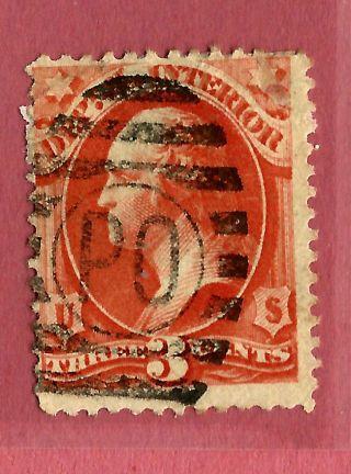 1800s Us Stamp W/ Fancy