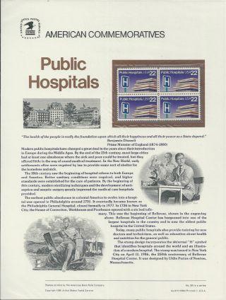 2210 Public Hospitals 1986 Commemorative Panel photo
