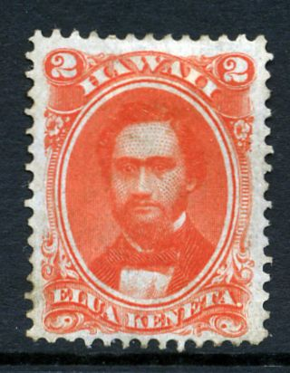 Hawaii,  31a,  2 Cent King Kamehameha Iv photo