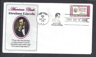 1143 American Credo Abraham Lincoln photo