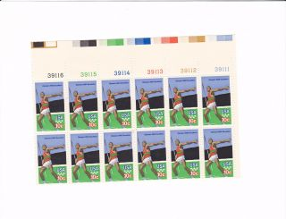 Scott 1790,  Olympics - Decathalon,  Plate Block Of 10,  1979 Issue,  Mnhog photo