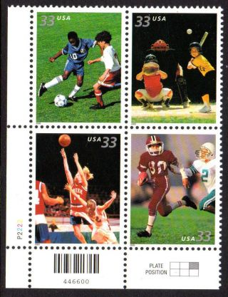 Sc 3402a Youth Team Sports Pb/4 Ll Cv $2.  80 photo