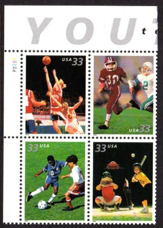 Sc 3402a Youth Team Sports Pb/4 Ul Cv $2.  80 photo