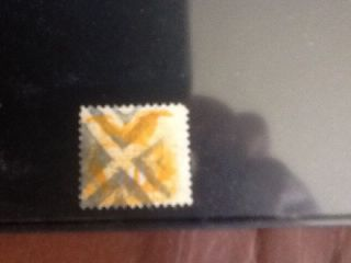 Scott 116 1869 10c Shield & Eagle Fancy Cancel Weiss Cert Thin Scv $150 photo