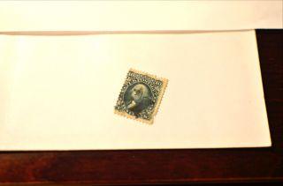 Rare 1867 George Washington Green 10 Cent Stamp Scott 89 photo