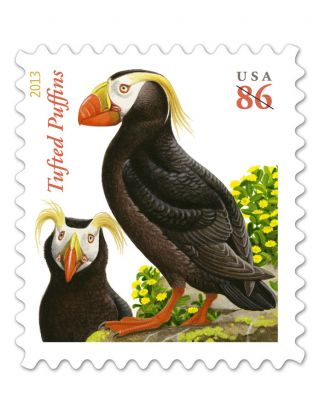 Us Scott 4737 Tufted Puffins photo