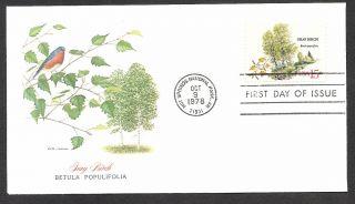 Sc 1767 - Gray Birch - Fleetwod Cachet - - American Tree Series photo