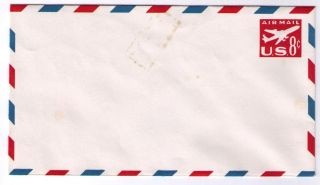 Sc Uc36 - Jet Airliner - Air Mail - 1962 - Envelope photo