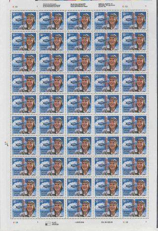 Us 3066 50c Blue Jacqueline Cochran