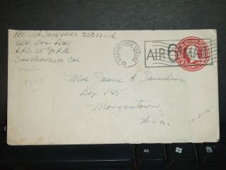 Apo 75 Manila,  Philippines Wwii Army Cover 1945 Gen Eng Dist photo
