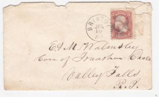 Bristol Pennsylvania To Valley Falls Rhode Island 1860 ' S Cover photo