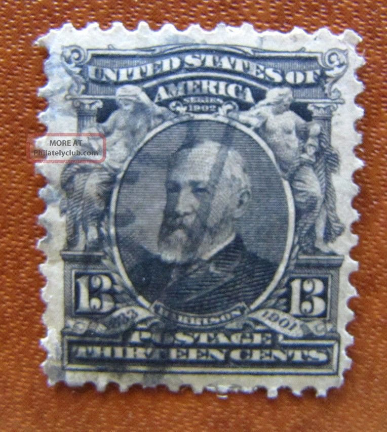 308 Regular Issue 13 Cent 1901 Us Stamp D690 United States photo