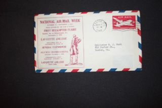 National Air - Mail Week Oct.  27 - Nov.  2,  1946 Scott Uc14 photo