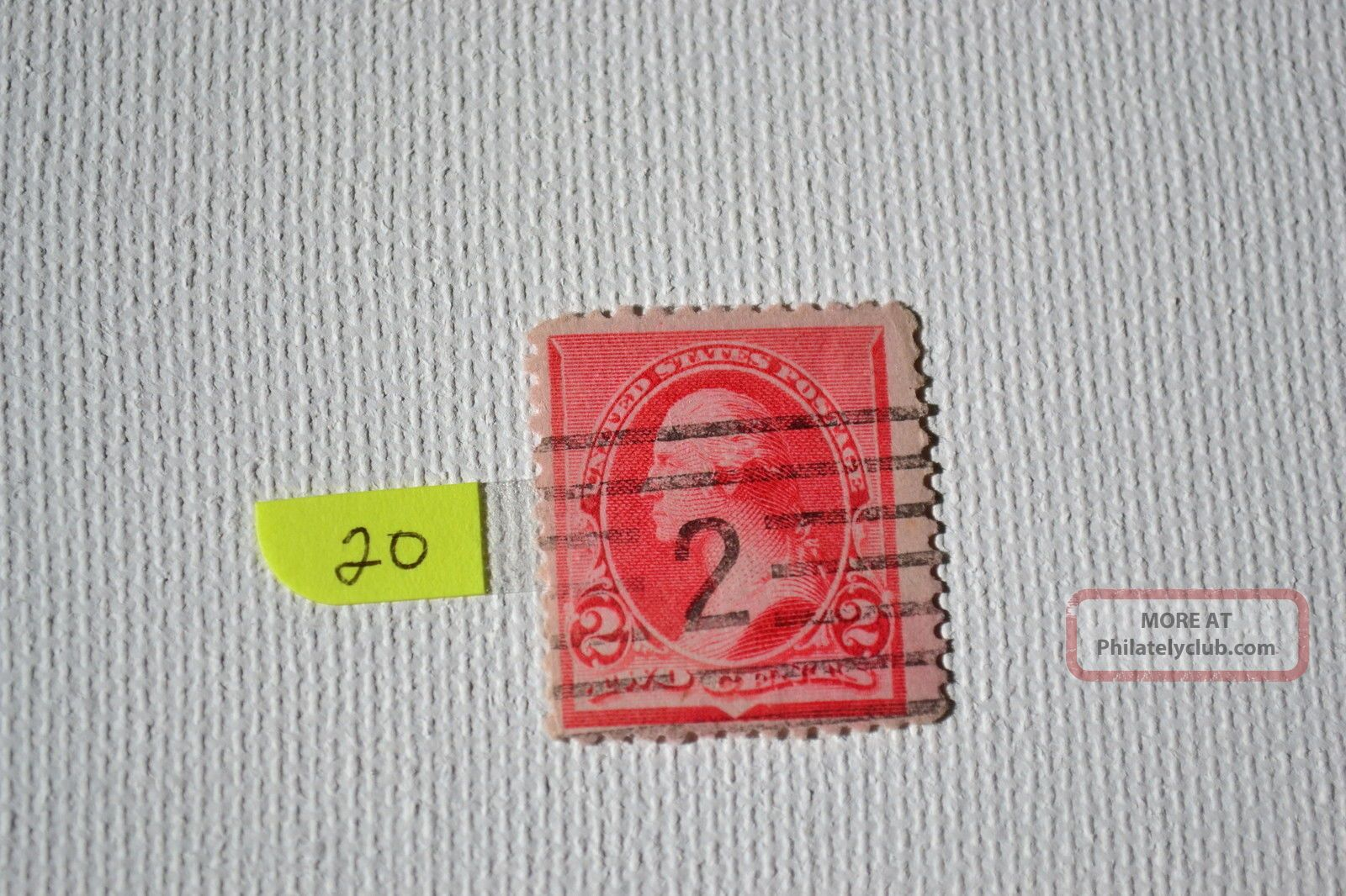 George Washington 2 Cents Stamp,  Rare And 20 United States photo