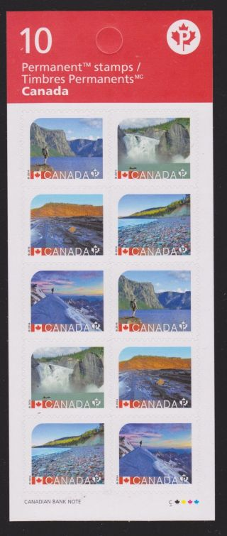 2014 Unesco World Heritage In Canada Booklet Of 10 photo