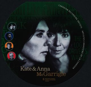 Canada 2483i Booklet Bk461 Kate & Anna Mcgarrigle Cover photo
