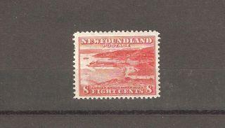 Newfoundland 1941 - 1944 Sc 259 Corner Brook Paper Mill Vf Cv $3 photo