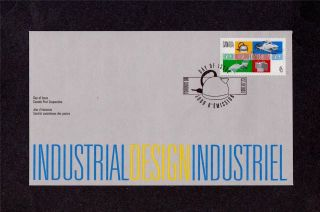 Canada Post 1997 Industrial Design Day Of Issue Cover July 23,  1997 photo