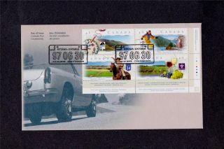 Canada Post 1997 Canadian Highways Day Of Issue Cover