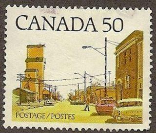 Canada Scott 723,  Main Street,  Prairie Town, ,  1978 photo