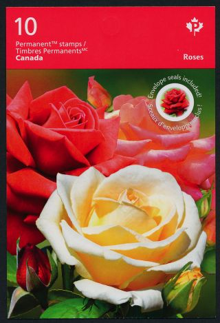 Canada Issue Booklet Flowers,  Roses photo