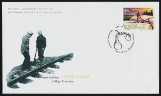 Canada 1810 Fdc Frontier College,  Education photo