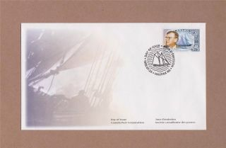 Canada Post William James Roue Bluenose 1998 Day Of Issue Cover photo