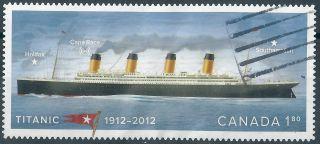Canada.  2012. .  Titanic.  (3001) photo