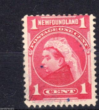 Newfoundland.  Sg84.  Vfu.  Cat £5.  50. photo