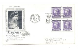 Canada 1953 Ottawa Cover First Day Of Issue Elizabeth Ii photo