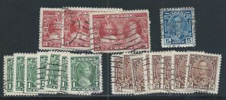 King George V Silver Jubilee 1 To 5 Cents 211 To 214 photo