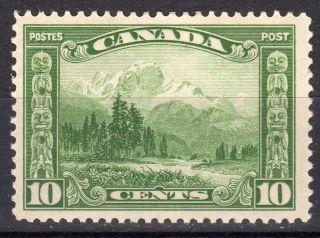 1928 Sc 155 10c Mt.  Hood Og Mlh Canada photo