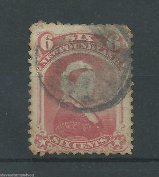 Newfoundland - 1860 - Sg39 - Cv £ 26.  00 - photo