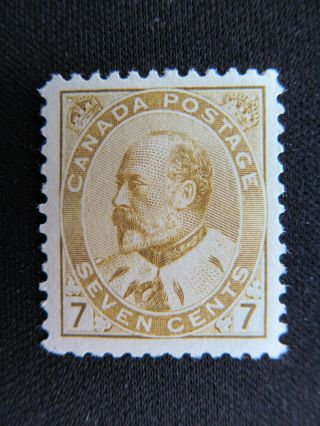 1903 Canada 7 Cent Stamp,  92; Cv $550.  00 photo