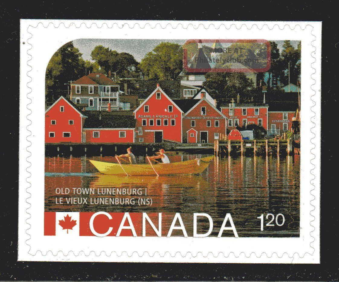 2014 Sc Old Town Lunenburg Unesco World Heritage Site L 592b M - Nh From B Canada photo