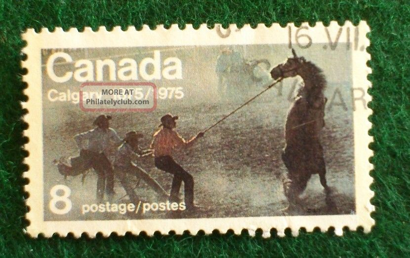Canada.  Centenary Of Calgary.  1976.  8 Cents. Canada photo