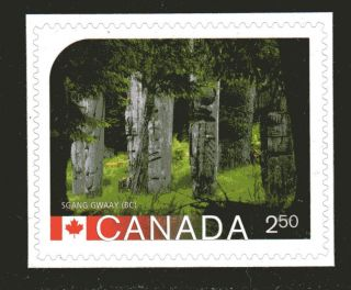 2014 Sc Sgan Gway (bc) Unesco World Heritage Site L 596b M - Nh From Bookl photo