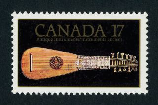 Canada 878 Look Of Music,  Antique Mandora photo