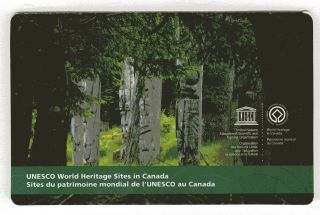 2014 Sc Bk Unesco World Heritage Sites In Canada M - Nh1 Booklet Of 6 Sgan Gwa photo