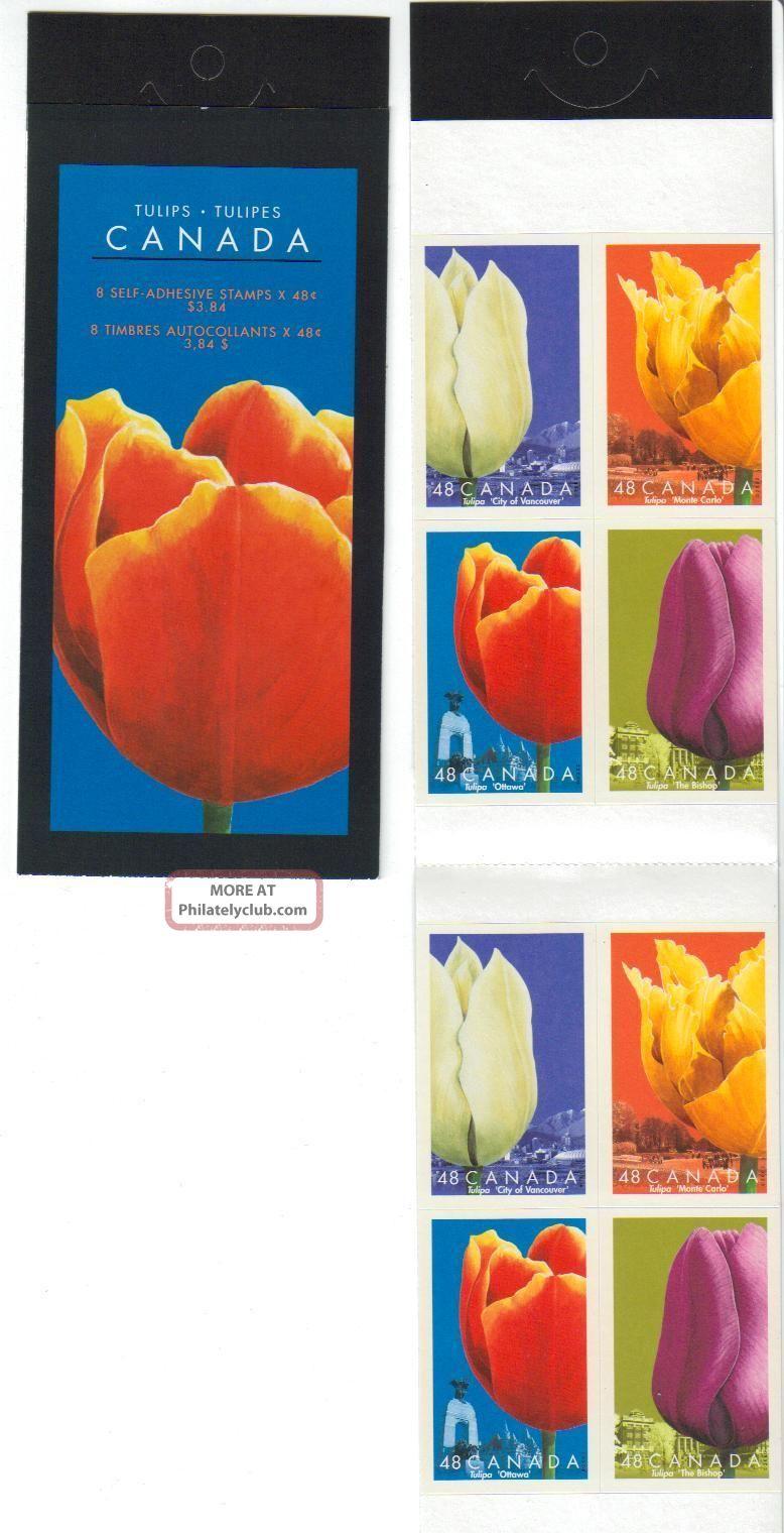 2002sc Bk 257b Tulips - Open Cover Canada photo