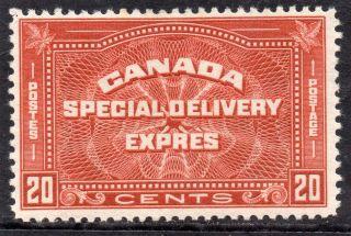 Canada 1932 20c Brown - Red,  Fm.  Sg S7.  Cat.  £45. photo