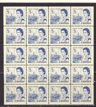1967 458b 5¢ Centennial Issue Df Dex Mini Pane Of 20 Vfnh photo