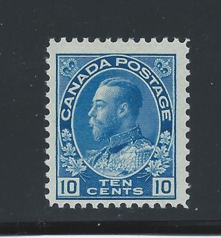 King George V Admiral 10 Cents 117 Mh photo