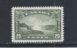 King George V Pictorial 20 Cents Niagara Falls 225 Mh photo