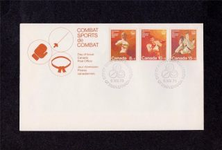 Canada Post 1976 Montreal Olympics Combat Sports
