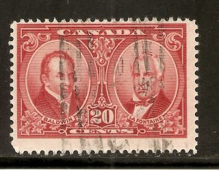 Historical Issue Baldwin & Lafontaine 20 Cents 148 photo