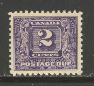 Canada J7,  1930 2c Postage Due - Second Postage Due Series,  Hinged photo