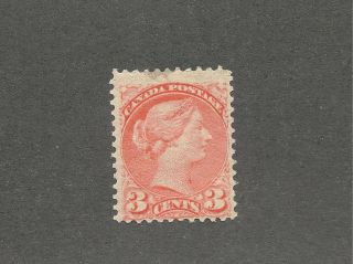 Canada 1888 Scott 41 Small Queen 3 Cents Vf Cv $250 photo