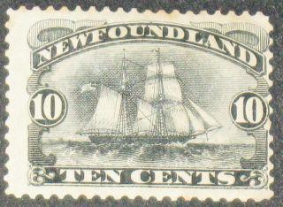 1887 Canada Newfoundland Scott 59 10c Black photo